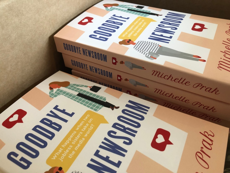 Boxes of Goodbye Newsroom paperback