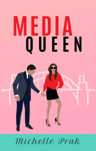 Media Queen book cover by Michelle Prak